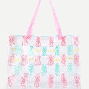 Handbags - 🌟5/$25🌟Pineapple Tote Bag